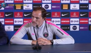 Replay : Conférence de presse de Thomas Tuchel avant Paris Saint-Germain EA Guingamp