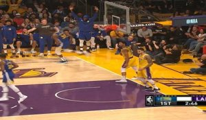 Golden State Warriors at Los Angeles Lakers Recap Raw