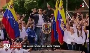 Venezuela : manifestations sous haute tension