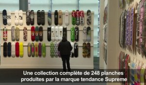 Une collection de skateboards Supreme vendue 800.000 dollars