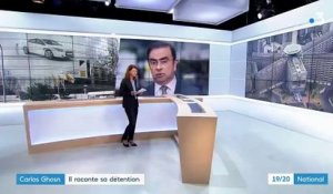 Carlos Ghosn raconte sa détention à des journalistes français