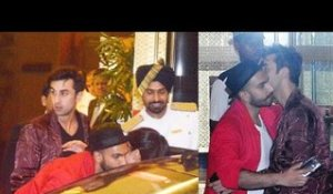 Ranveer Hugs Deepika's Ex Ranbir and Girlfriend Katrina!