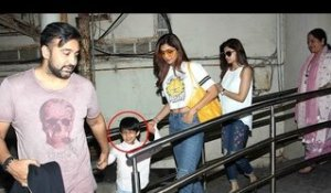 Shilpa Shetty's Cute Son Viaan Gets Scared Of Reporters