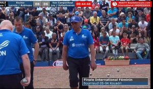 International à pétanque d'Andrézieux-Bouthéon 2018 : Finale ROCHER vs LOY
