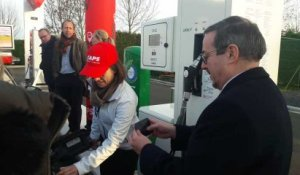 Soignies: Une nouvelle station CNG inaugurée