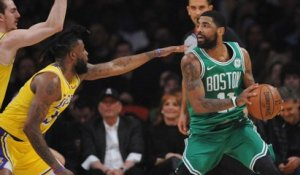 NBA - Irving et les Celtics balayent les Lakers