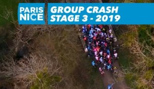 Group Crash - Étape 3 / Stage 3 - Paris-Nice 2019