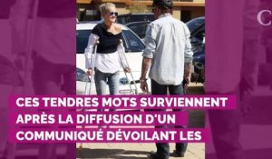"PHOTO. Laeticia Hallyday ""tellement fière"" de Johnny : son message plein de tend..."