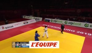 Gahié en or - Judo - Grand Slam (F)