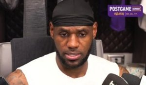 Postgame: LeBron James (3/24/19)