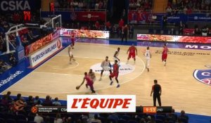 Le CSKA domine Vitoria - Basket - Euroligue