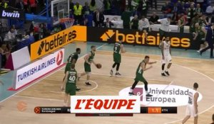 Exploit de Zalgiris contre le Real Madrid - Basket - Euroligue