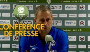 Conférence de presse Red Star  FC - AS Nancy Lorraine (1-1) :  (RED) - Alain PERRIN (ASNL) - 2018/2019