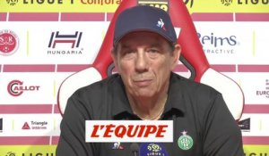 Gasset «On figure parmi les 6-7 équipes qui visent l'Europe» - Foot - L1 - Saint-Etienne