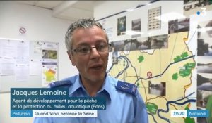 Pollution : quand le groupe Vinci bétonne la Seine