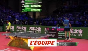 Le Suédois Falck en finale - Tennis de table - ChM (H)