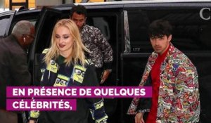 VIDEO. Surprise ! Sophie Turner et Joe Jonas se sont mariés à Las Vegas