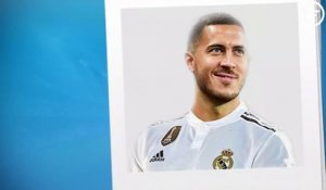 OFFICIEL :  Eden Hazard signe au Real Madrid !