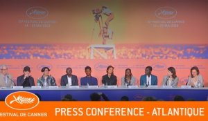 ATLANTIQUE - Press conference - Cannes 2019 - EV