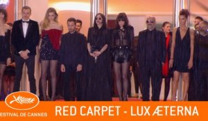 LUX AETERA - Red carpet - Cannes 2019 - EV