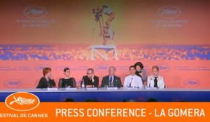 GOMERA - Press conference  - Cannes 2019 - EV