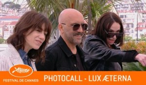 LUX AETERNA - Photocall - Cannes 2019 - EV