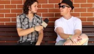 Urthboy (Sydney) - Interview at Big Day Out 2013