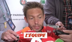 Mahut «Un grand moment» - Tennis - Roland-Garros - 2e tour
