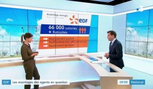 EDF : les avantages des agents en question