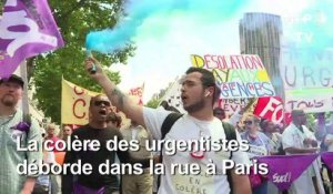 """Désolation day aux urgences"" : manifestation à Paris"