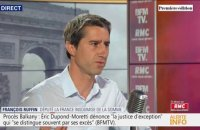 "François Ruffin (LFI): ""La question centrale est celle de la démocratie,(...) on nous propose de commencer par Aéroports de Paris"""