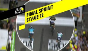 Sprint final / Final Sprint - Étape 12 / Stage 12 - Tour de France 2019