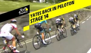 Yates de retour dans le peloton / Yates back in the peloton - Étape 14 / Stage 14 - Tour de France 2019