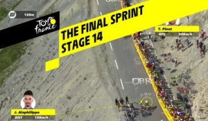 Le sprint final / The final sprint - Étape 14 / Stage 14 - Tour de France 2019