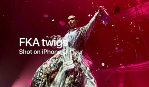 Shot on iPhone XS - On Tour with FKA twigs - Apple