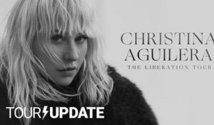 Christina Aguilera Announces Liberation Tour in North America
