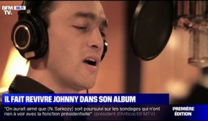 Jean-Baptiste Guégan, le sosie vocal de Johnny Hallyday, sort son album ce vendredi