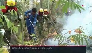 Bolivie : Evo Morales se perd dans la jungle