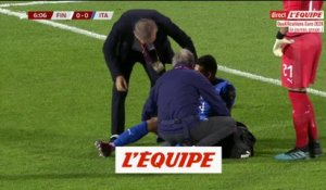 Emerson sort sur blessure - Foot - Qualif. Euro