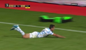 Stade Toulousain / Racing 92 : L'interception et essai d'Imhoff !