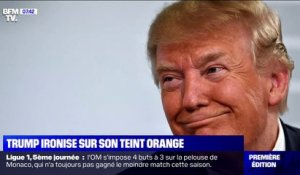 L'étonnante explication de Donald Trump sur son teint orange