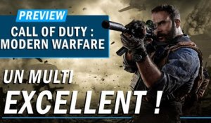 CALL OF DUTY : MODERN WARFARE : Un multi excellent !
