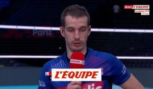 Toniutti «Beaucoup de déception» - Volley - Euro