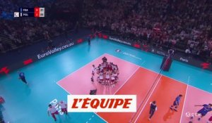 La France battue par la Pologne - Volley - Euro (H)