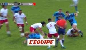 Comprendre le rugby, des soutiens offensifs efficaces - Rugby - Mondial