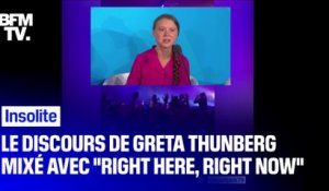 "En tournée en Angleterre, Fatboy Slim a remixé son tube ""Right here, right now"" avec le discours de Greta Thunberg à l'ONU"