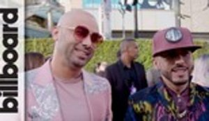 Wisin Y Yandel Talk Fashion & New Song 'Chica Bombastic' | Latin AMAs 2019