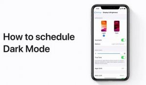 Comment programmer le Mode Sombre sur votre iPhone, iPad ou iPod touch - Apple Support