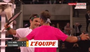 Federer bat Nadal devant une affluence record - Tennis - The match in Africa