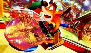 CRASH TEAM RACING NITRO FUELED GRAND PRIX CIRQUE NEON Bande Annonce (2019) PS4 /Xbox One / Switch